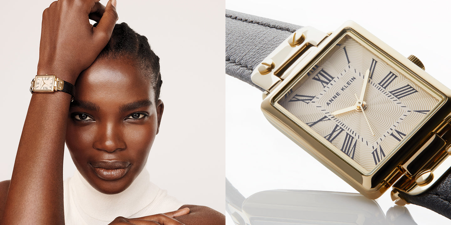 Anne Klein Watches on model