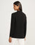 Anne Klein Black Two Pocket Malibu Cardigan