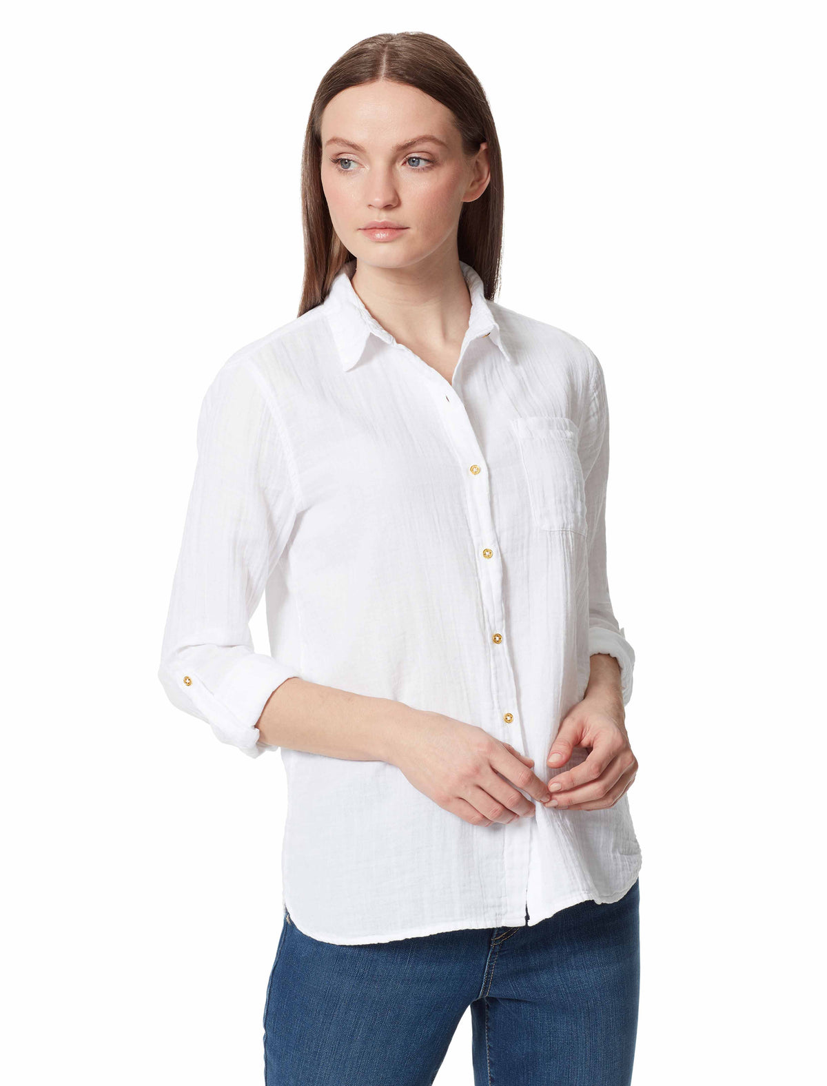 Lucile Button Down Shirt