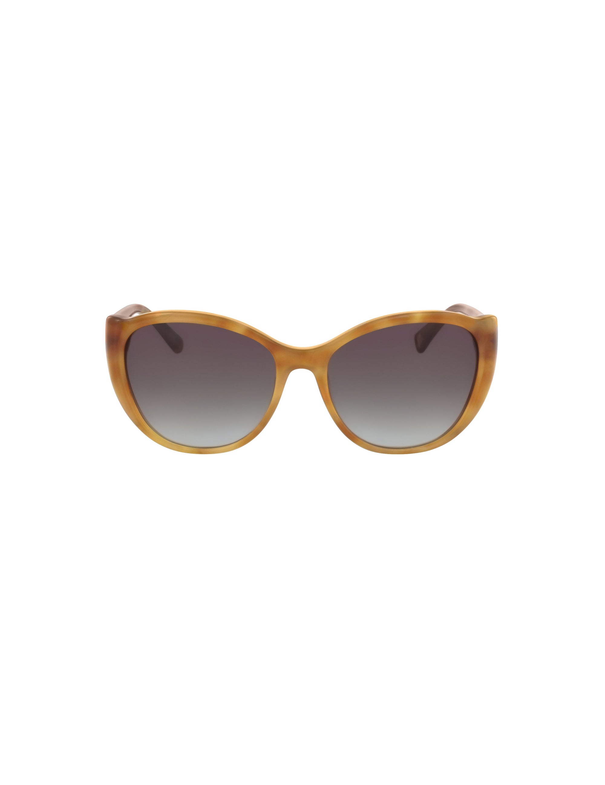Blonde Tortoise Modern Cateye Sunglasses