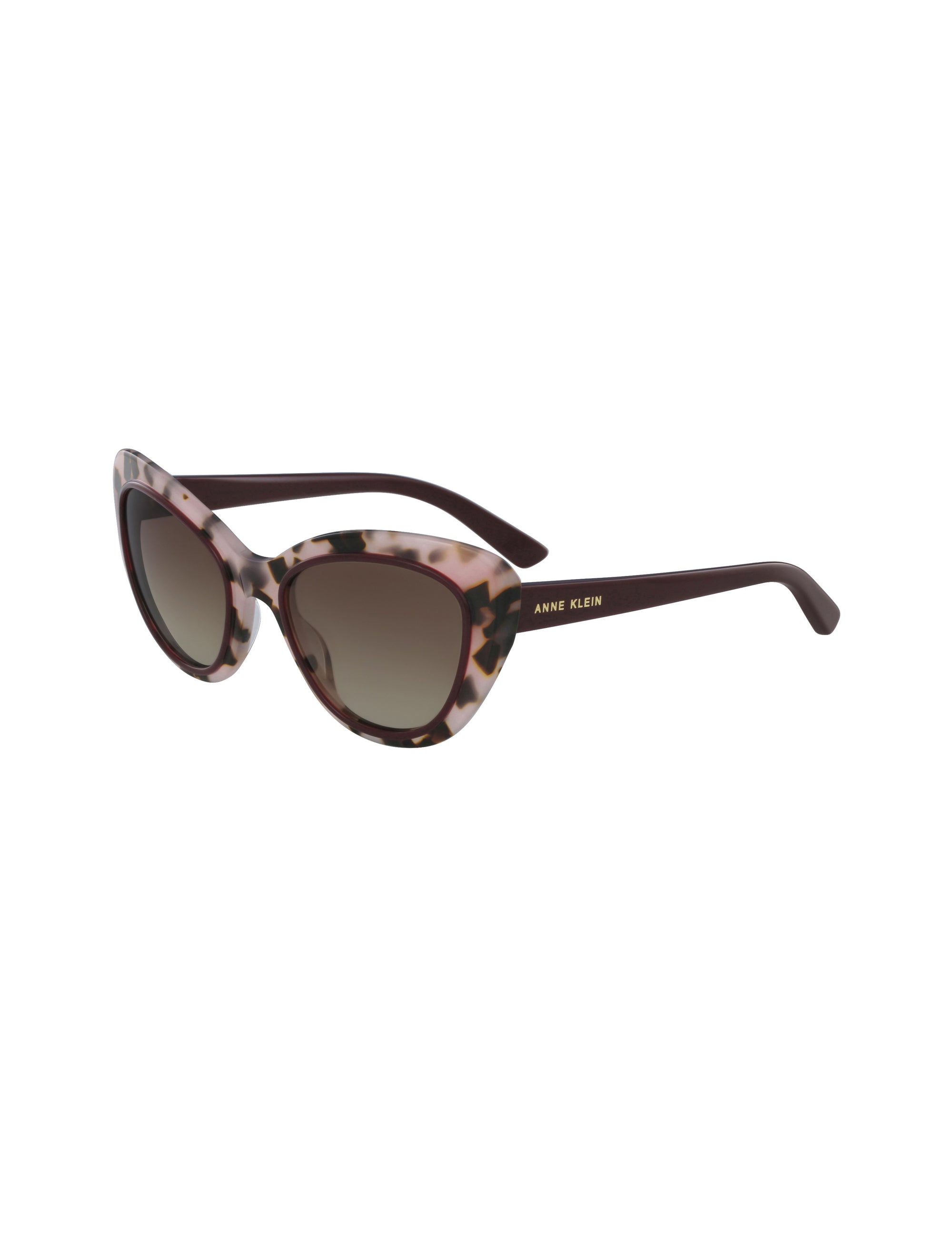 Blush Tortoise Two-Tone Cateye Sunglass