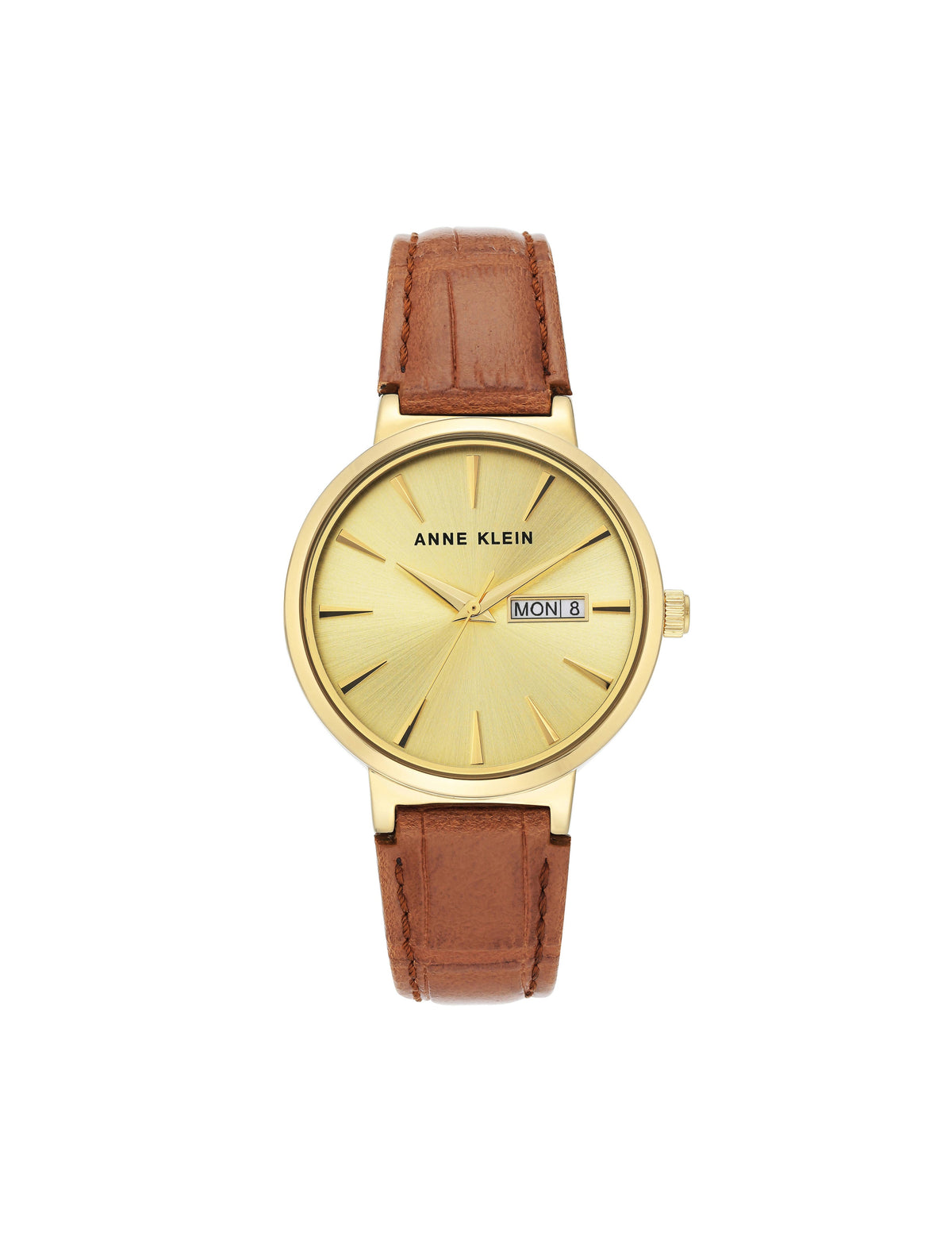Classic Vegan Leather Strap Watch