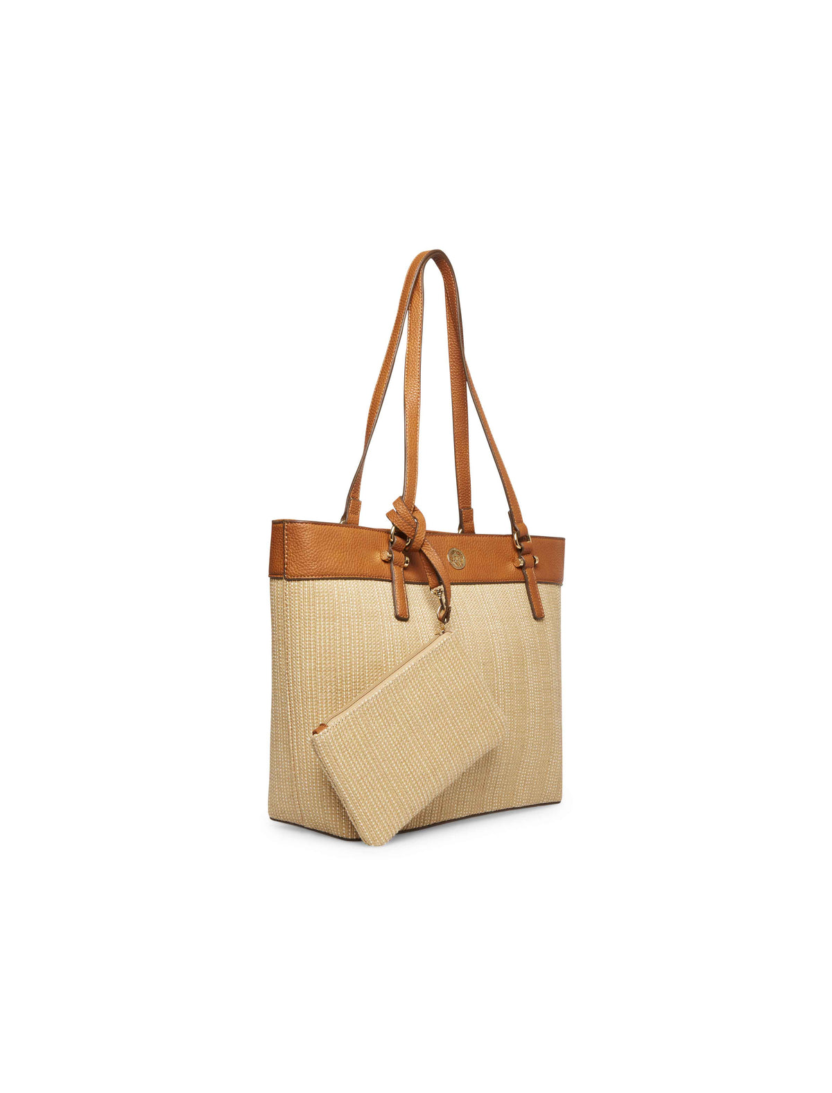 Triple Natural Compartment Tote Bag