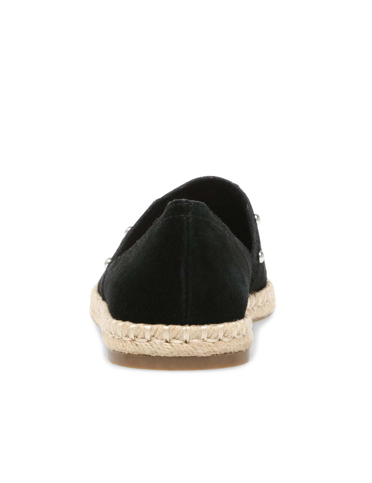 Anne Klein Kaily Studded Slip On Espadrille in Black