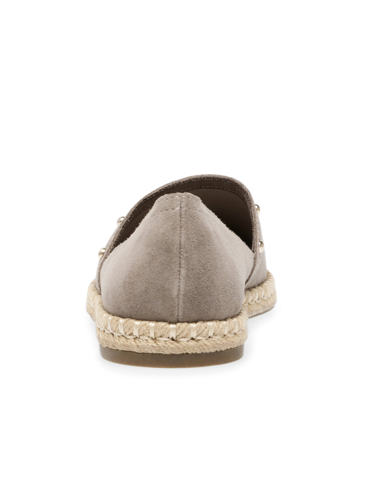 Anne Klein Kaily Studded Slip On Espadrille in Taupe