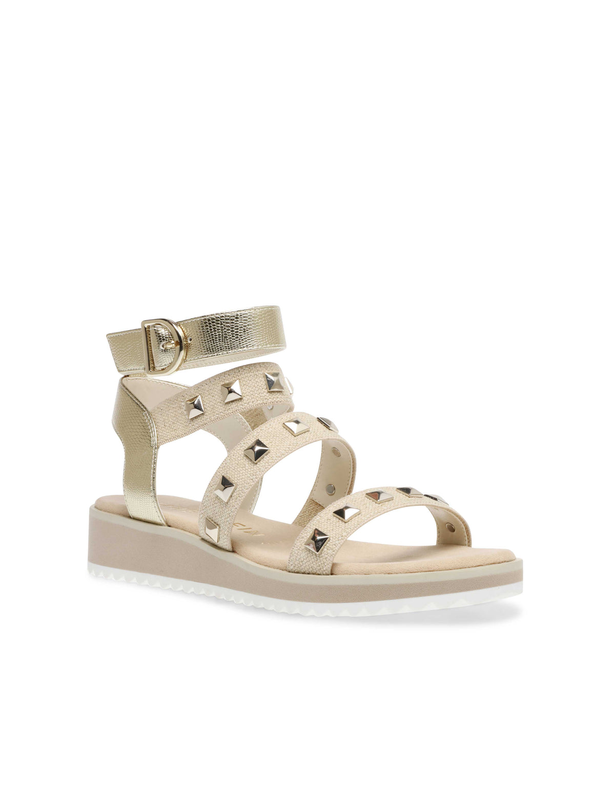 Mariah Gladiator Studded Sandals