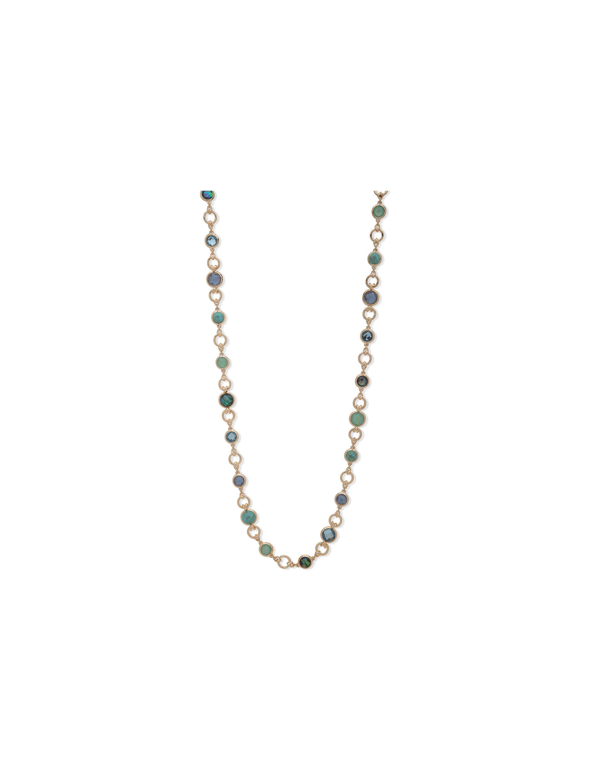 Abalone Channel Strand Necklace
