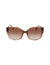 Animal Square Horn Sunglasses