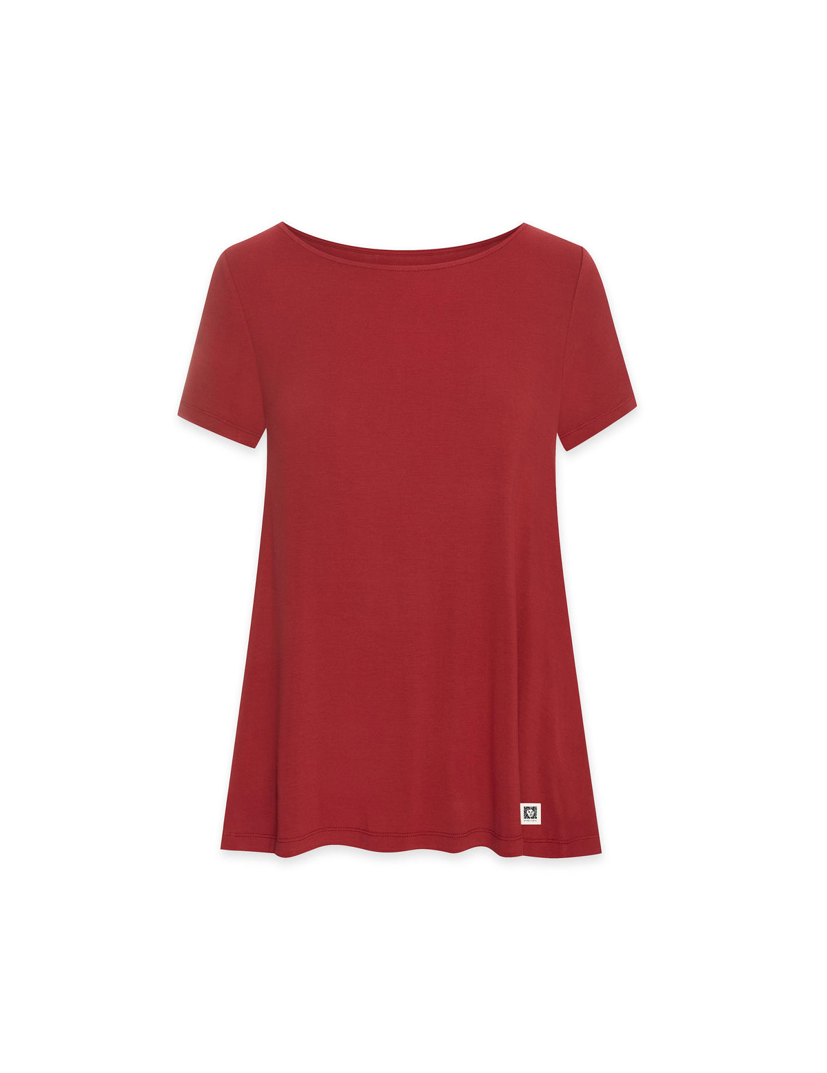 Reiny Solid Trapeze Tee