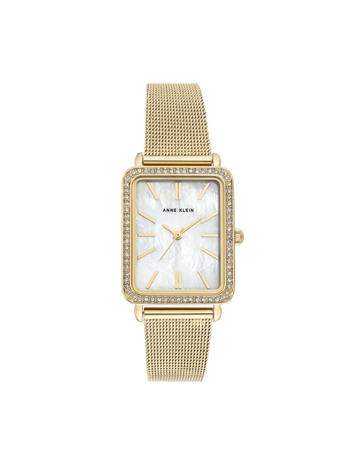 Rectangular Mesh Bracelet Watch