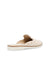 Anne Klein Shea Faux Leather Slip On Mule in Creame