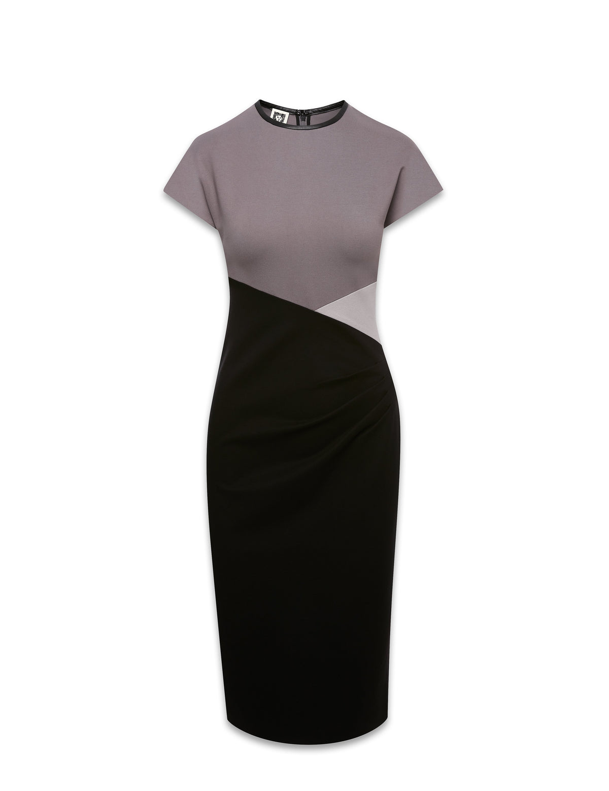 Colorblock Ponte Cap SLV Dress