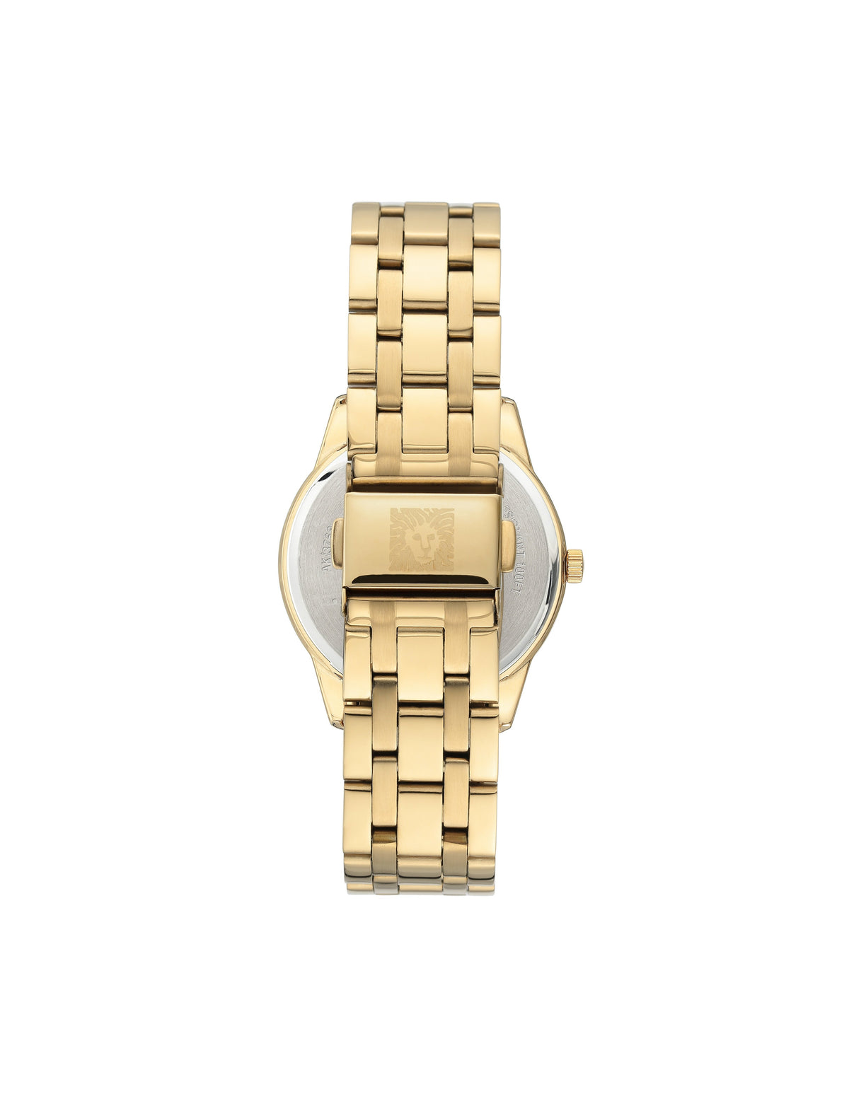 considered solar powered gold black swarovski crystal accented mother of pearl dial bracelet watch