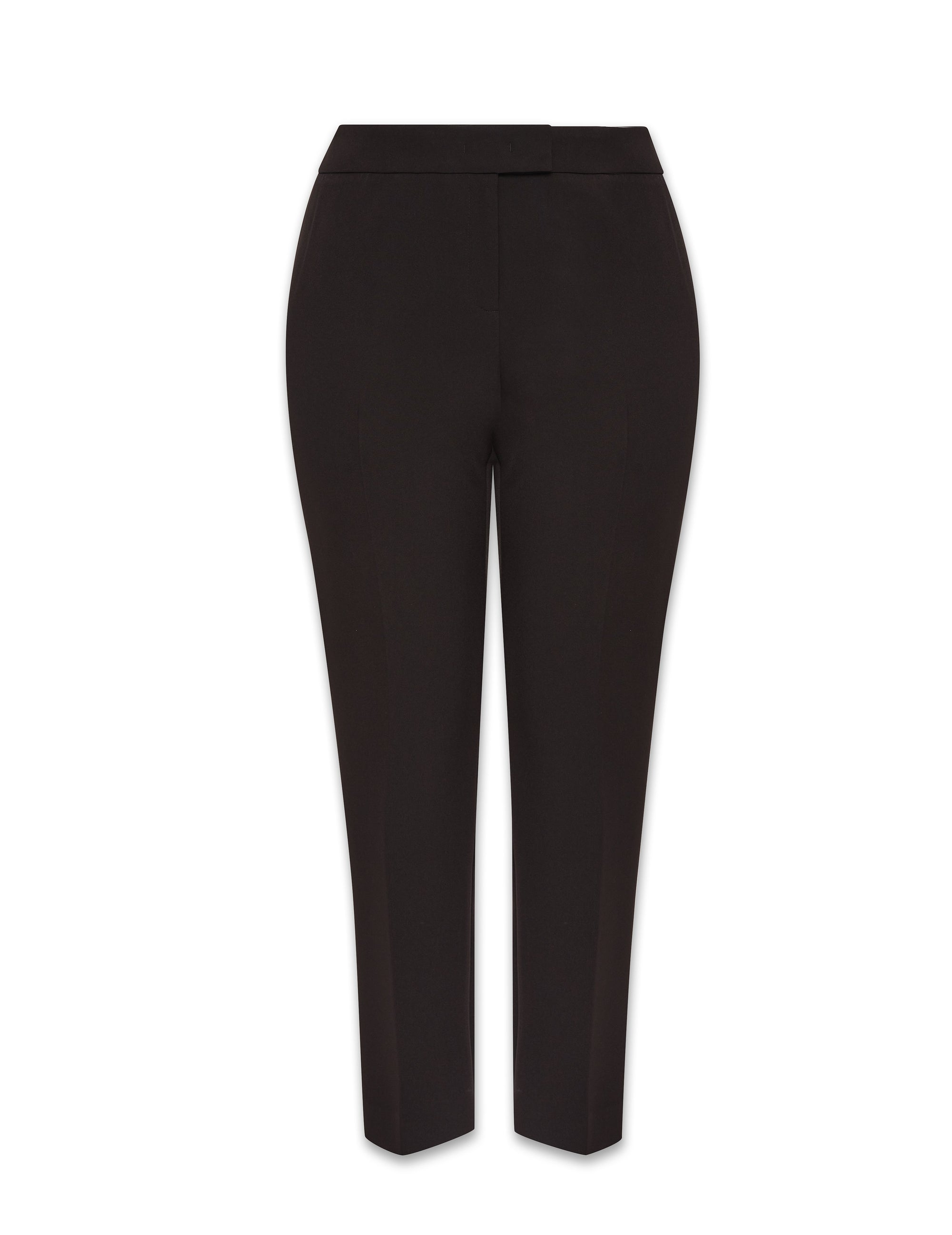 Anne Klein Black Contour Stretch Bowie Pant