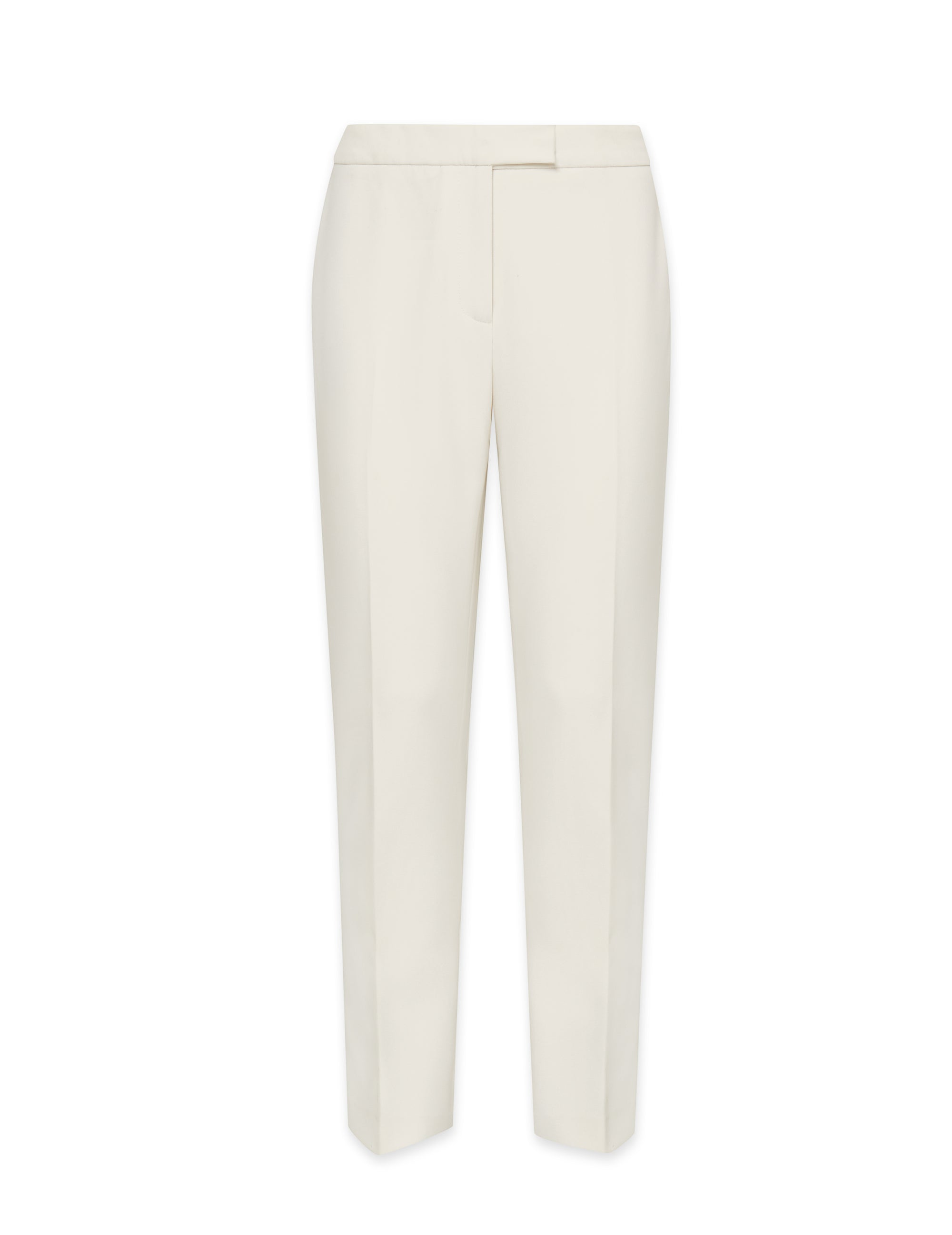 Anne Klein White Contour Stretch Bowie Pant