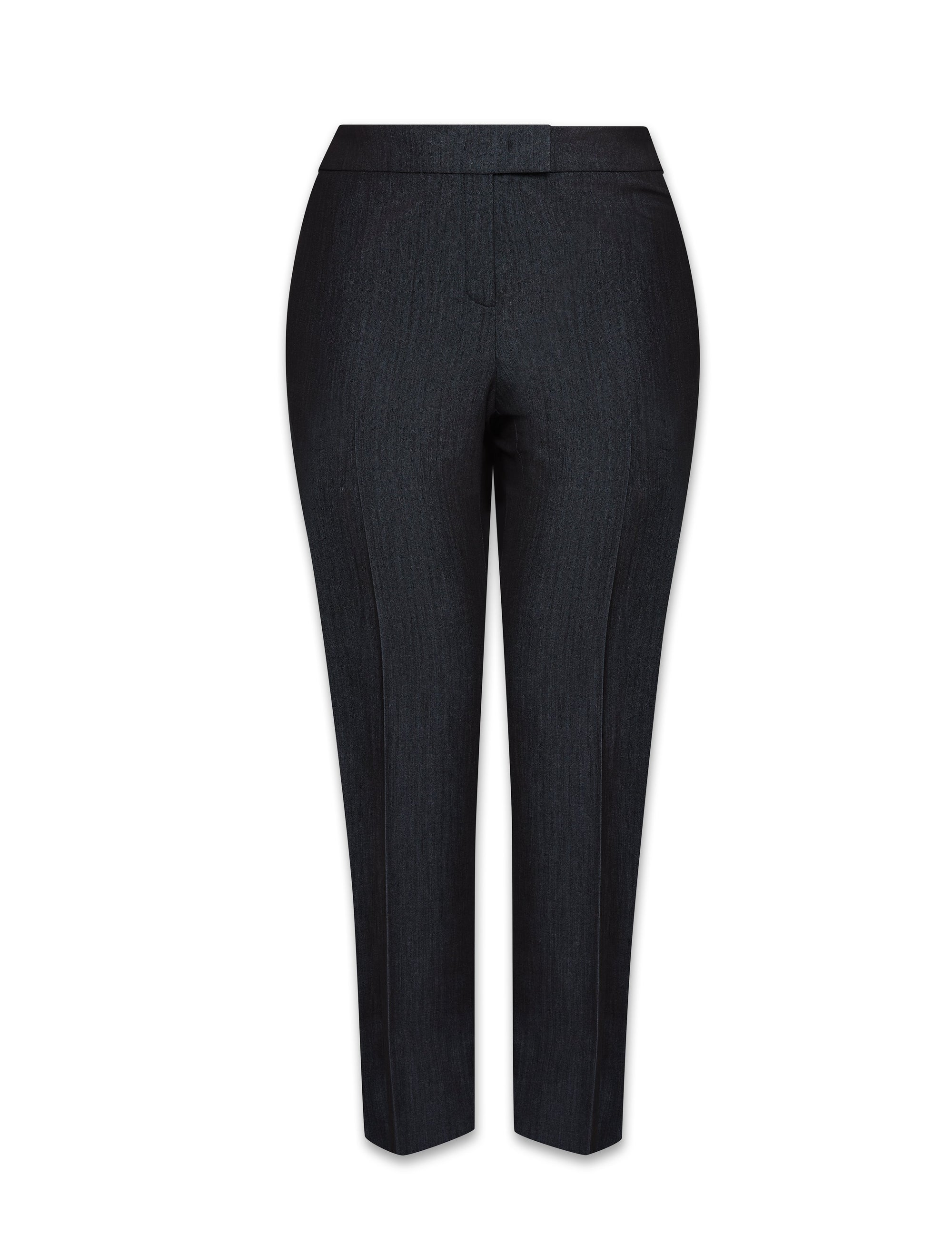 Anne Klein Indigo Twill Denim Slim Leg Pant