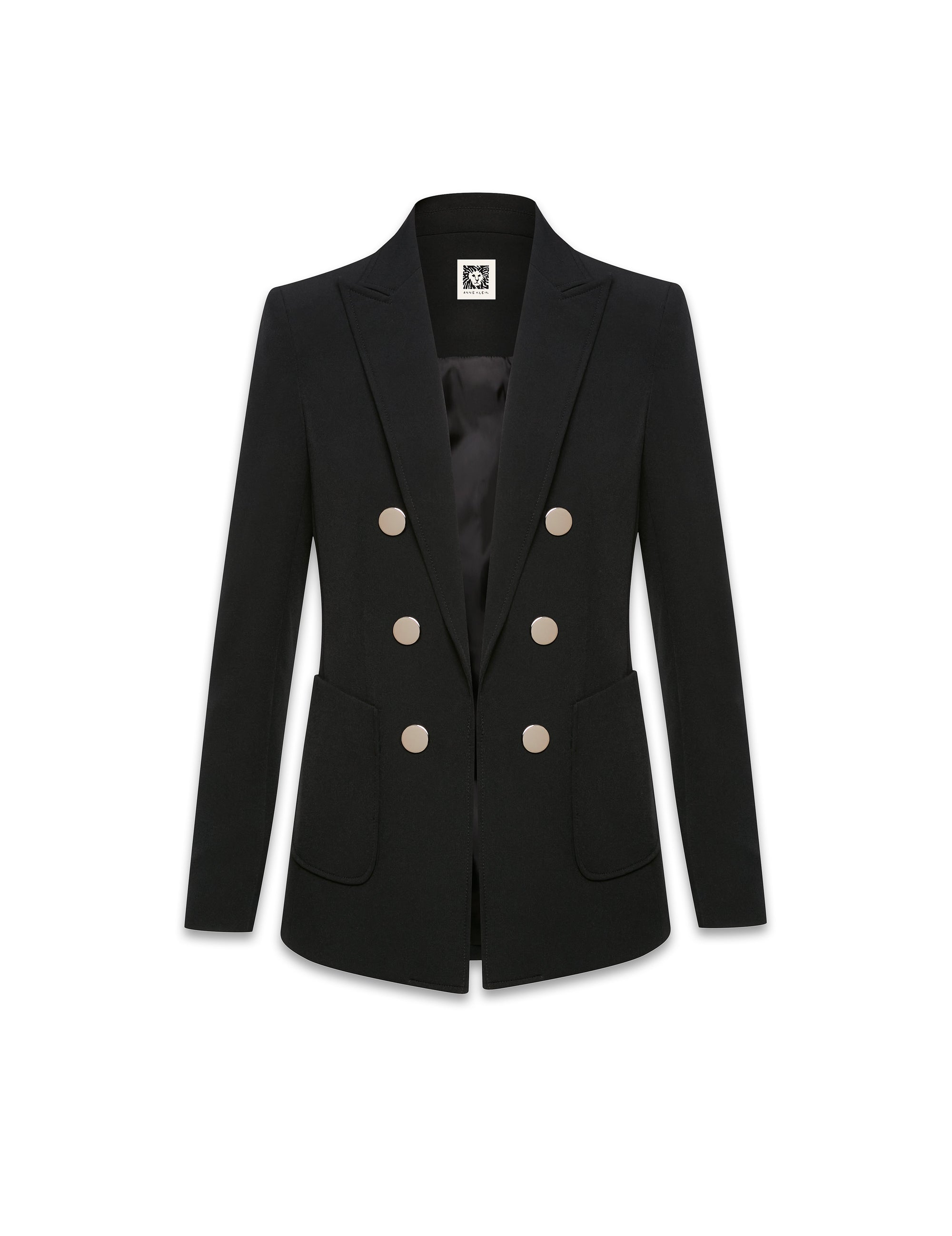 Anne Klein Faux Double Breasted Jacket