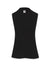 Anne Klein Black V-Neck Triple Pleat Top