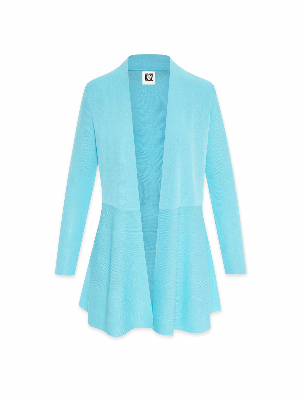 Monterey Long Waist Seamed Cardigan