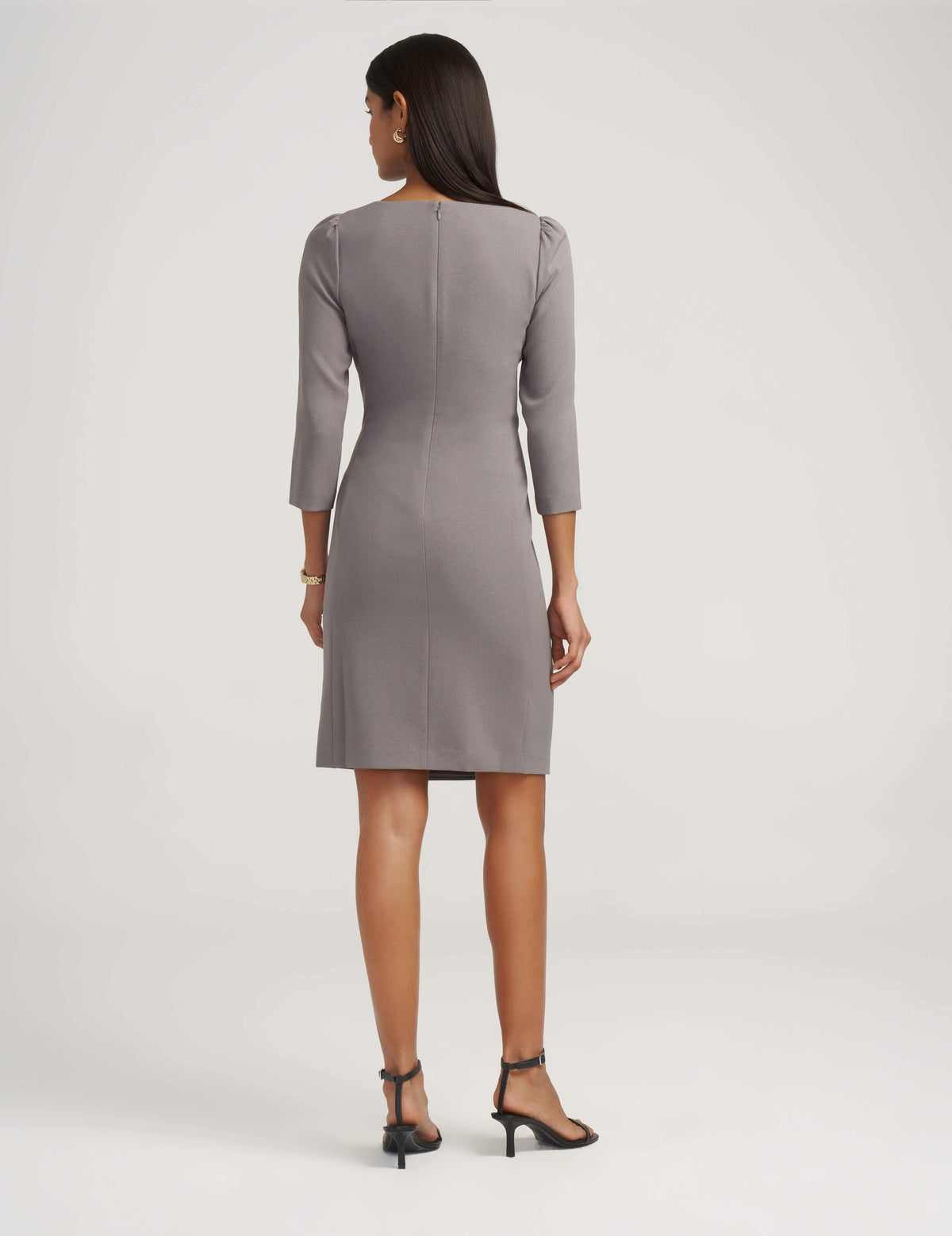 Ruched Side Sheath Dress