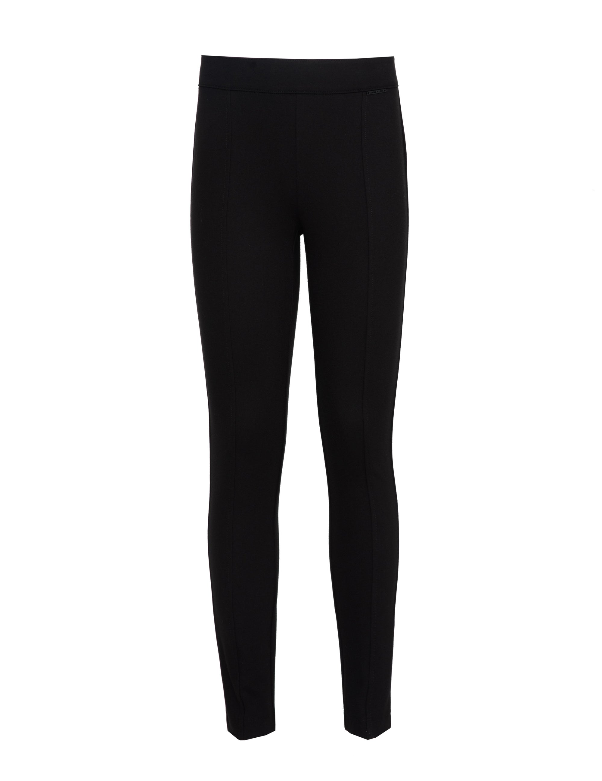 Anne Klein Black Slim Leg Compression Pant