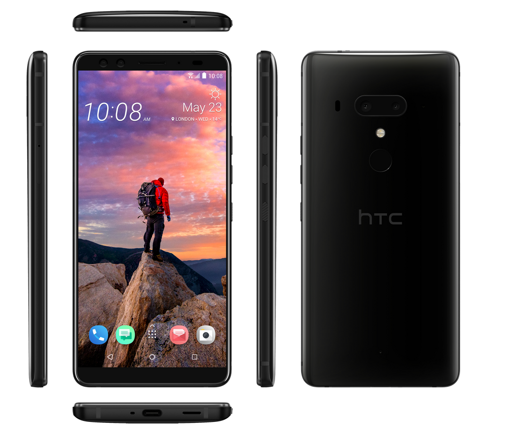 HTC U12+ CERAMIC BLACK  DUAL SIM