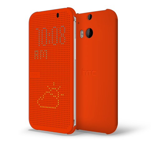 Dot View Cover til HTC One (M8)