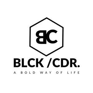 LOGO BLCK /CDR. Beauty & Lifestyle Webstore for Bold Men Only.