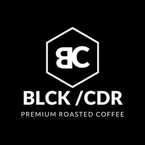 BLCK / CDR. Premium Roasted Coffee 250g