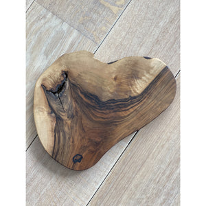 Wooden serving board natural round - Petit Patsy