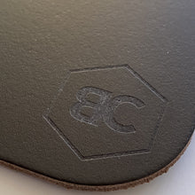 Load image into Gallery viewer, BLCK / CDR. Leather Mousepad Brown