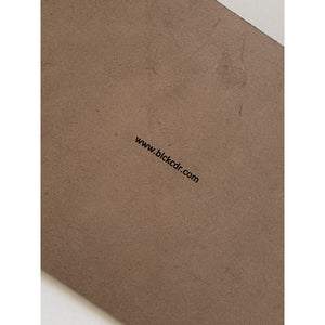 BLCK / CDR. Leather Mousepad Brown