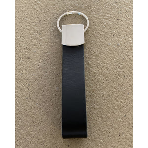 BLCK /CDR. Leather Keyhanger Black