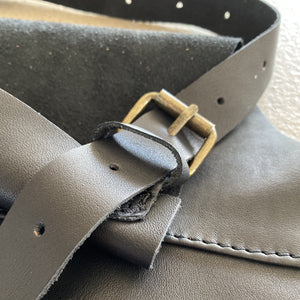 BLCK /CDR. Leather Apron