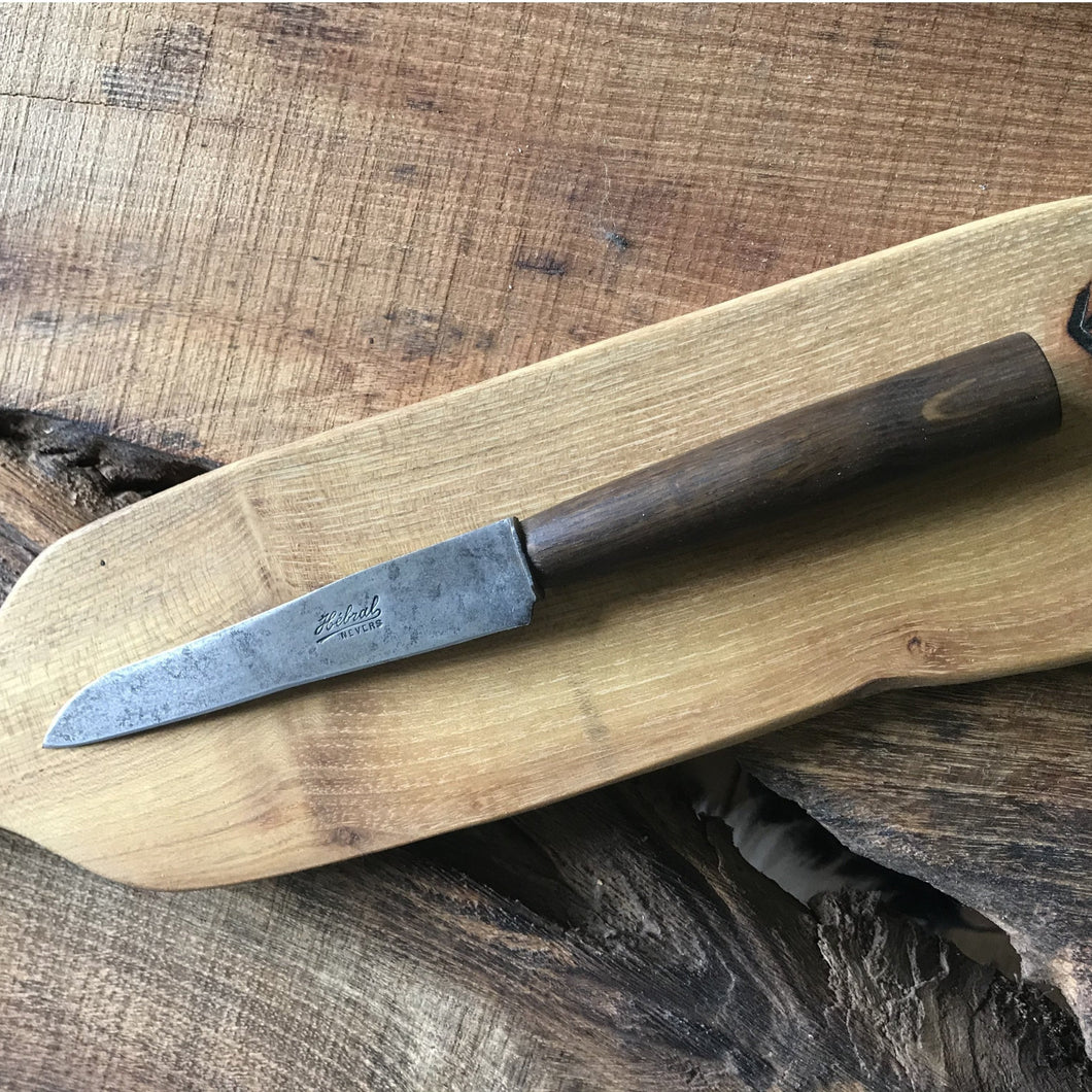 Handmade antique knive with 13th century wooden handle