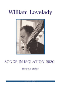 Songs in Isolation 2020 (Digital PDF)