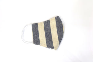 Block Stripe (Navy)