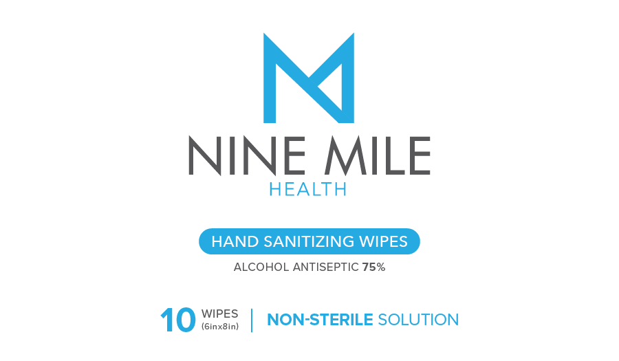 75% Alcohol Hand Sanitizing Wipes 10CT/Pack, 100 Packs; 1,000 total wipes