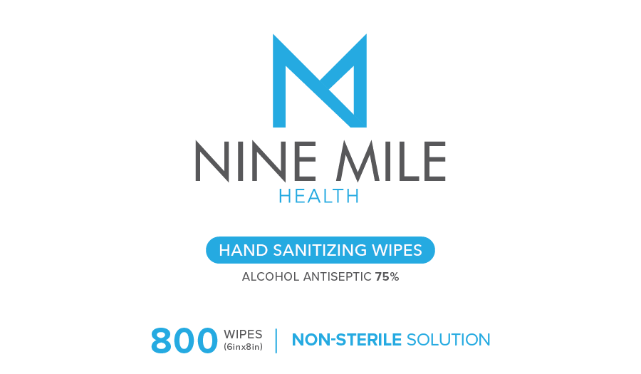 75% Alcohol Hand Sanitizing Wipes 800CT/Roll, 4 Rolls; 3,200 total wipes