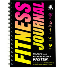 Load image into Gallery viewer, Clever Fox Fitness & Workout Journal/Planner Daily Exercise Log