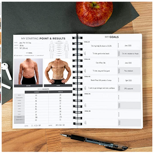 Clever Fox Fitness & Workout Journal/Planner Daily Exercise Log