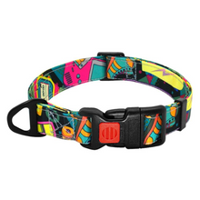 Load image into Gallery viewer, Retro Dog Collar