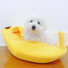 Load image into Gallery viewer, Banana Dog Bed