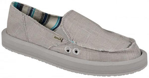 SANUK WOMENS DONNA SOFT TOP HEMP SIDEWALK SURFER