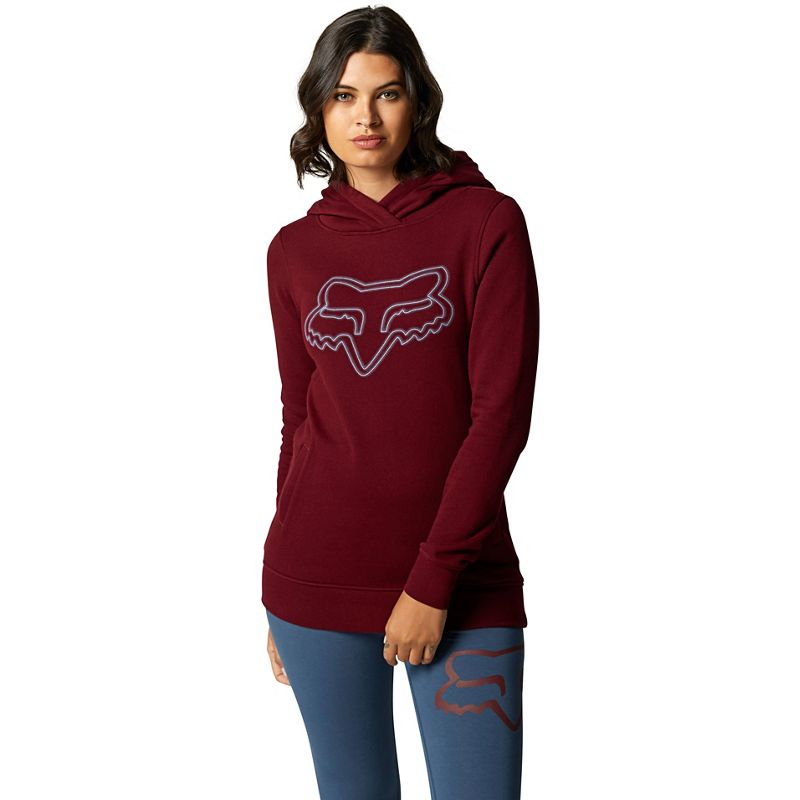FOX WOMENS AFTERGLOW PULLOVER HOODIE