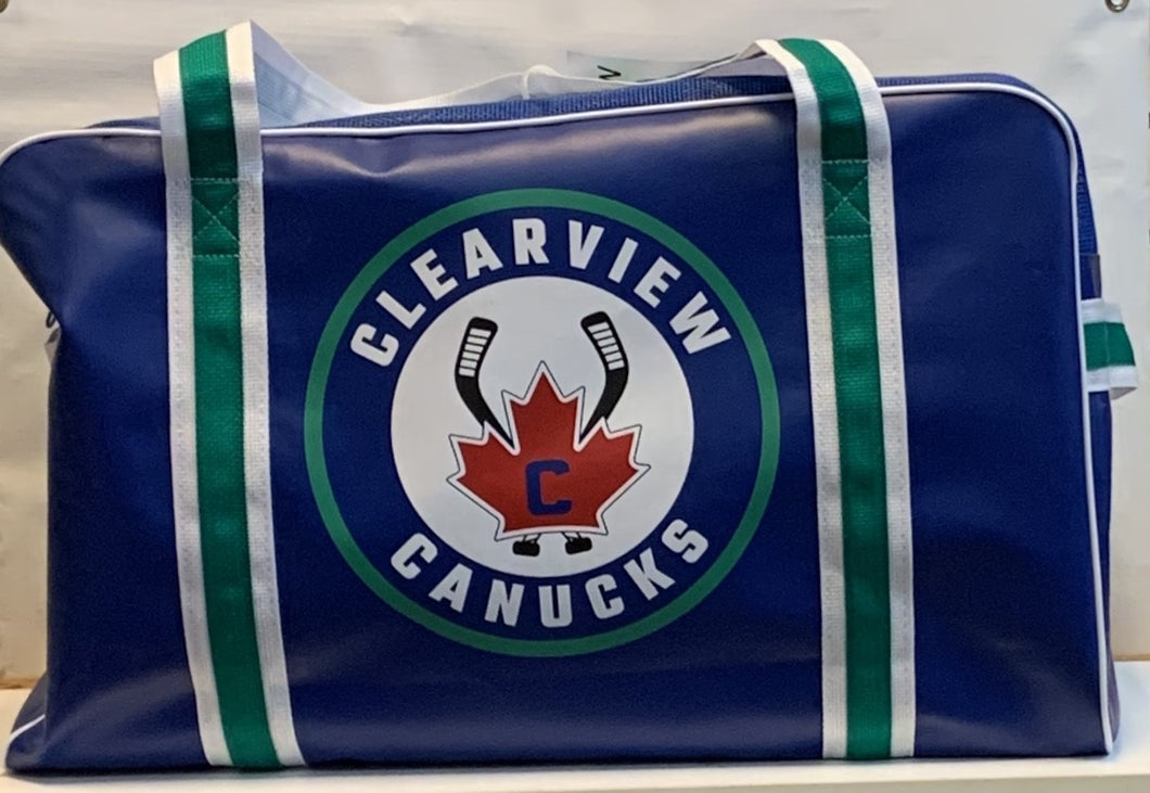 Clearview Canucks Equipment Bag-Coach
