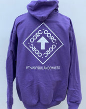 Load image into Gallery viewer, *LIMITED EDITION Unisex CORC Heather Purple Pullover Hoodie