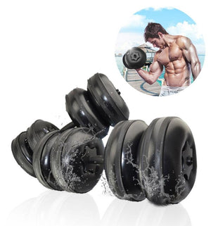 Booster Adjustable Water Dumbbells