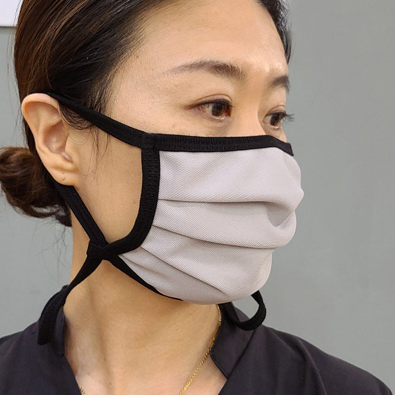 BUTTONSMITH ADULT COTTON ADJUSTABLE FACE MASK WITH FILTER POCKET