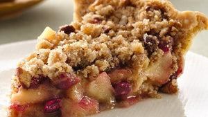 Thanksgiving Day Apple and Cranberry Pie. Must Pre-order by Saturday, November 21st!